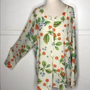 🍂🍁VanHeusen blouse
